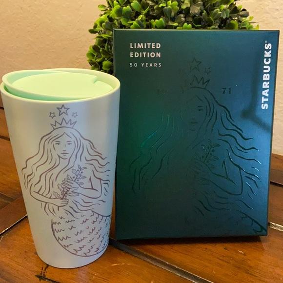 Starbucks 50th Anniversary Siren Mermaid Tumbler